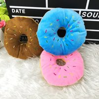 Prix ​​d'usine 300pcs Sightly Lovely Pet Dog Puppy Cat Squeaker Quack Sound Toy Chew Donut Play Toys