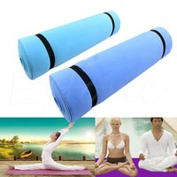 Wholesale Eva Sleeping Mats - Wholesale- New EVA Foam Yoga Pad Eco-friendly Dampproof Sleeping Mattress Mat Exercise