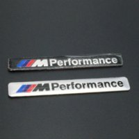Wholesale NEW Car Styling x1 cm Motosport M Car Sticker Badge For BMW Decal m3 m5 X1 X3 X5