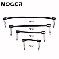 Wholesale Mooer Guitar Pedals - Mooer FC series Guitar Effects pedal cable patch cable guitar accessories