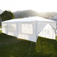 Wholesale outdoor gazebo tents for sale - 10 x30 Canopy Party Outdoor Wedding Tent Heavy duty Gazebo Pavilion Cater Events