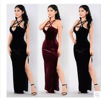 Wholesale Ladys Evening Dresses - 2017 woemn fashion pure sexy dress ladys party evening skirt plus size dresses black sexy dresses