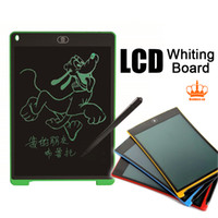 Wholesale Writing Boards Kids - New arriveal Ultrathin Only 4.5mm Thick LCD Writing tablet- Drawing board gifts for kids office writing memo board