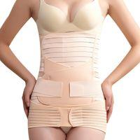 Wholesale Postnatal Support - Wholesale- 2017 Pregnant women belt after pregnancy support belt belly corset Postpartum postnatal girdle bandage after delivery birth shap