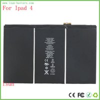 Wholesale New mAh Li ion Internal Battery Replacement for iPad th A1458 A1459 A1460 with Free Repair Tools and