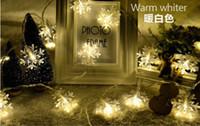 Wholesale Led Christmas Light Curtain Snowing - 2017 Top Sale wholesale LED lights flashing light 10M,4M,snow Christmas tree wedding festival decoration lamp