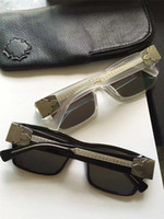 Wholesale Black Chrome Wrap - Men CHROME Sunglasses BJORN AGAIN Black Frame w  Grey Lens Designer Brand Sunglasses New with Box
