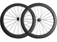 Sem furos externos 60 mm clincher Road Bike Wheels straight pull SAT rodas de carbono Full Carbon Road Bicycle Wheelset Disco Travão Cyclocross Wheel