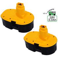 Wholesale Dewalt Replacement Battery - Replacement dewalt 18v 3Ah battery For DEWALT XRP DC9096 DE9039 DE9095 DE9096 DE9098 DW9095 DW9096 DW9098 DE9503 Capacity Cordless Power