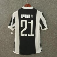Wholesale Pro Perfect - Perfect 17 18 player version soccer jerseys JUVENt home AAA football shirts authentic as worn pros slim fit fotbul shirts custom name DYBALA