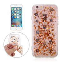 Wholesale Grip Technologies - Anti Gravity Bling Foil Glitter Case Nano Technology Grip Magic Suction Cover For iPhone 8 7 6 6S Plus 5 5S SE Sumsung S8 S7 Edge Plus