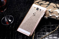 Wholesale S3 Mini Glitter - For Samsung Galaxy A3 A5 S3 S4 S5 S6 edge S7 edge j5 j7 A310 A510 mini 2016 G530 Bling Shinning Case Glitter Fashion Cover