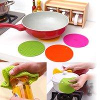 Wholesale Mug Heating Pad - Wholesale- New Table Trivet Heat Resistant Coaster Pad Mat Cushion Cup Coffee Mug Placemat