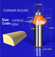 Wholesale Straight Router Bits - 1pc 9384 wood router bit straight end mill trimmer cleaning flush trim corner round cove box milling cutter