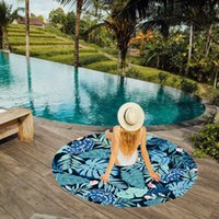 Wholesale Hot New Novelty Products - Hot style snow spins round beach towels in Europe and the Sue shawls summer new product manufacturer wholesale sunscreen