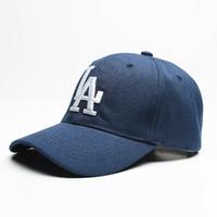 Wholesale New Mlb Hats - LA Hip Hop MLB Snapback Baseball Caps NY Hats MLB Unisex Sports New York Adjustable Bone casquette Men Casual headware