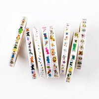 cartoon scrap - m mm DIY Cute Kawaii Cartoon Washi Tape Lovely Scrap Adhesive Tape For Home Decoration Photo Album