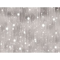 Wholesale vinyl glitter fabric - Vinyl Fabric Glitter Stars Silver Grey Backdrop for Photography Baby Newborn Polka Dots Backdrops Bokeh Christmas Photo Studio Background