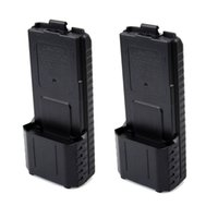 Commercio all'ingrosso - 2pcs AAX6 caso di batteria esteso per Baofeng UV-5R TONGFA TF-UV985 TYT TH-F8 radiofonico portatile radiofonico Walkie Talkie J5013A
