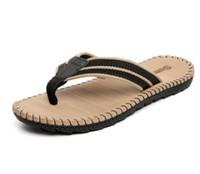 yeni moda terlik erkekler toptan satış-Sıcak satıcı moda yaz aylarında erkekler için yeni Yaz flip-flop plaj ayakkabı ve erkekler terlik sandalet 313