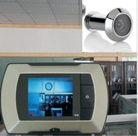 "Wholesale Door Peep - 2.4"" LCD Visual Monitor Door Peephole Peep Hole Wireless Viewer Camera Video"