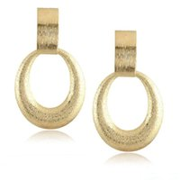 Find Me 2017 moda Vintage contrato de luxo irregular Drop Earrings for Women Jóias ouro cor dangle Earrings atacado frete grátis