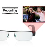 Wholesale High Video Glasses - High Quality HD 1080P Mini Glasses Covert Camera Security DVR Video Recorder Eyewear Cam V13