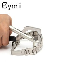Wholesale Bracelet Pliers - Wholesale- Cymii Watchmaker Watch for Band Bracelet Link Pin Remover Repair Plier Kit Tool Excellent Quality Watch Repair Tool Kits