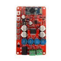 Wholesale audio amplifier receiver - Freeshipping Wireless Bluetooth 4.0 Audio Receiver Digital TDA7492P 25W+25W Amplifier Board
