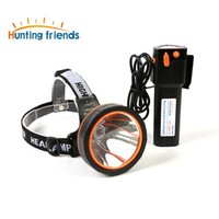 Wholesale powerful headlamps resale online - 12pcs Powerful led Headlight Super Bright head lamp rechargeable headlamp waterproof LED headlight for Huting Fishing camping