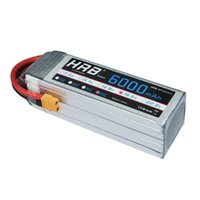 Wholesale Bateria Lipo - HRB Battery Lipo Bateria 18.5V 6000mAh 50C Max 100C 5S For Helicopter Quadcopter Boat Car