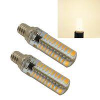 Wholesale Sky Spotlights - 2-Pack E12 4.5W Dimmable 4014SMD 80-LED Bulbs, Warm White Light, 2800-3000K, 400-420LM, 110V AC