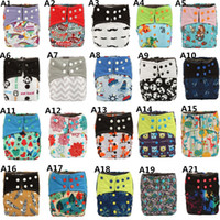 Wholesale Double Gussets - [Sigzagor]ALL IN ONE Charcoal Bamboo Baby Cloth Diaper Nappy Washable,Sew 5 layer Insert,Double Gussets AIO Night Heavy Wetter