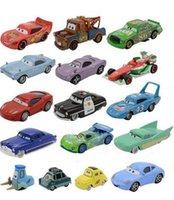 Wholesale Cars Pixar Flo - Pixar Cars2 Lightning McQueen 1:55 Diecast Alloy Toys Birthday Christmas Gift For Kids Toy The King Sally Mater Fillmore FLo b957