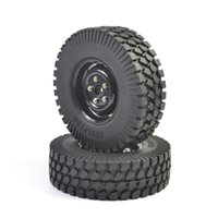 Wholesale Rc Crawler Parts - RC 1:10th Rock Climbing Crawler Tires 1.9inch & Plastic Wheel 4Pcs For T132