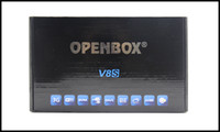 Wholesale Openbox Tuner - Accept OEM orders Openbox V8S HD PVR Satellite Receiver Support WEB TV Slot USB Wifi 3G Youtube CCCAMD
