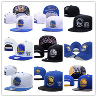 Wholesale Cheap Sports Teams Snapback Hats - Cheap 2017 golden state Caps DHL Free shipping curry basketball Snapback Hats sports All Teams Caps Men&Women Adjustable Football Cap Size