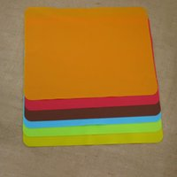 Wholesale Disposable Liners - Wholesale- 40x30cm Silicone Mats Baking Liner Best Silicone Oven Mat Heat Insulation Pad Bakeware Kid Table Mat Hot Sale TY5