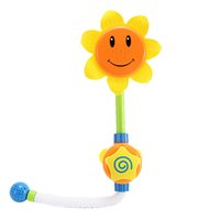 Wholesale Sunflower Shower Faucet Shower Baby Bathroom Shower Learning Toy Children Pool Swimming Toys Boys Girls Gifts
