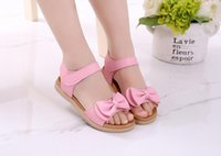 Wholesale Most Popular Kids - jeff store Kids sandals pink girls most popular shoes