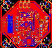 pcb bluetooth großhandel-Vier Wellen AirPlane Bluetooth-Modul HM-06 HM-07 MPU6050 HMC5883 STM32F103T8U6 Schaltplan und PCB Diy Kit Motorsteuerplatine