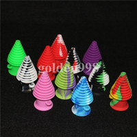 Wholesale Toys Water Pipes - 2017 USA Popular Mini Silicone Mouthpieces Nozzle Pipe For Glass Hookah Bong Water Bubbler Tobacco Smoking Accessories