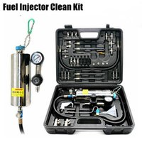 Wholesale Injector System - AUTOOL C100 Universal Automotive Non-Dismantle Fuel System Cleaner Auto gasonline Injector Clean tool For Petrol Cars