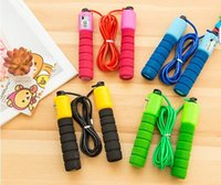 Wholesale Wholesale Weighted Jump Ropes - Electronic Counting Jump Rope Skipping Rope Gym Fitness Losing Weight Jump Rope Sports Exercise Equipment 2.7 M