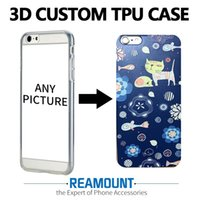 Wholesale Diy Dust Plugs - Wholesale DIY 3D Embossing Soft Silicone Tpu Case For Apple iPhone 7 Case With Dust Plug Back Cover For iPhone 7 plus