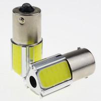 Wholesale Universal Assembly - 1156 BA15S LED Backup Reversing Light 3 Faces COB LED Turn Light Tail Light for Car
