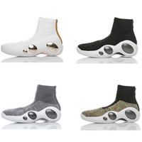 Wholesale Mens High Top Tennis Shoes - Fashion Zoom Bonafide OG Mens baketball shoes Air sneaker black white outdoor athletic tennis footwear high top size 40-45 with box