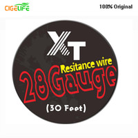 Wholesale core 15 - Clapton Wire 15 Feet Length DIY Resistance Heating Wire Core For Rebuildable E Cigarette Atomizers DHL Free Electrothermal alloy