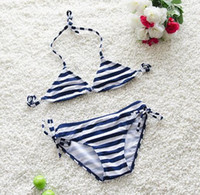 2017 Summer Babys Girls Striped Bikini Girls Cute Big Bowknot Swimsuit Cap Skirt Set Kids Купальники Дети Купальные костюмы Плавание Clothin