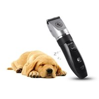 Pet Clipper Rechargeable sans fil Pet Dog Cat Shaver Razor Toilettage pour cheveux Clipper Professional Cat Dog Hair Trimmer Rechargeable 0714003